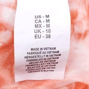 Lucky Brand Swim - Lucky Brand Tie Dye Reversible Bikini Bottom Sz M